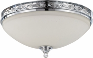 Jeremiah 37583-CH Saratoga Chrome Overhead Lighting Fixture