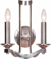Jeremiah 39062-SN Sydney Satin Nickel Sconce Lighting