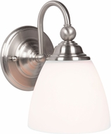 Jeremiah 39901-BNK Brighton Brushed Polished Nickel Light Sconce