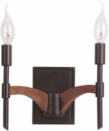 Jeremiah 40362-ESPWB Tahoe Espresso / Whiskey Barrel Wall Sconce