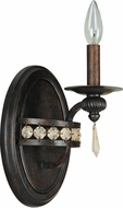 Jeremiah 5507PR1 Cortana Peruvian Bronze Wall Sconce Lighting