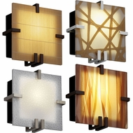 Justice Design 3FRM-5550 3form Clips 8.5  Tall Light Sconce