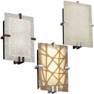 Justice Design 3FRM-5551 3form Clips 8.5  Wide Lighting Sconce