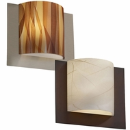 Justice Design 3FRM-5560 3form Framed 10  Tall Lighting Wall Sconce