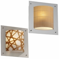 Justice Design 3FRM-5561 3form Framed 12  Wide Wall Lighting Sconce