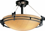 Justice Design 3FRM-8111 3form Metropolis 12  Tall Flush Mount Lighting