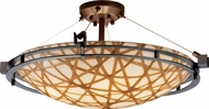 Justice Design 3FRM-8112 3form Metropolis 28  Wide Overhead Lighting