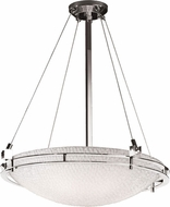 Justice Design 3FRM-8122 3form Metropolis 28  Wide Pendant Light