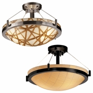 Justice Design 3FRM-9681 3form Ring 21  Wide Ceiling Light