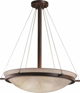 Justice Design 3FRM-9692 3form Ring 30  Tall Hanging Pendant Light