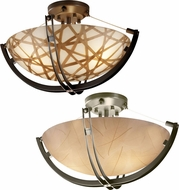 Justice Design 3FRM-9711 3form Crossbar 22  Wide Ceiling Lighting Fixture