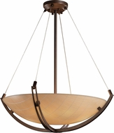 Justice Design 3FRM-9721 3form Crossbar 21  Wide Pendant Hanging Light