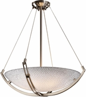 Justice Design 3FRM-9722 3form Crossbar 30  Tall Hanging Light Fixture
