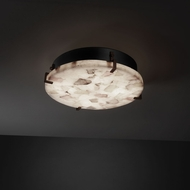 Justice Design ALR-5545 Alabaster Rocks!� 4  Tall Ceiling Lighting