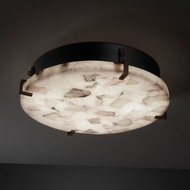 Justice Design ALR-5547-FM Alabaster Rocks!� 16.5  Wide Ceiling Light