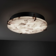 Justice Design ALR-5548 Alabaster Rocks!� 24.5  Wide Ceiling Light Fixture