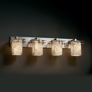 Justice Design ALR-8174 Alabaster Rocks!� 36.5  Wide Bathroom Lighting