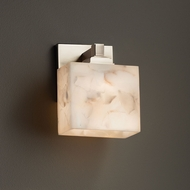 Justice Design ALR-8437 Regency Alabaster Rocks! ADA Compliant Sconce Lighting