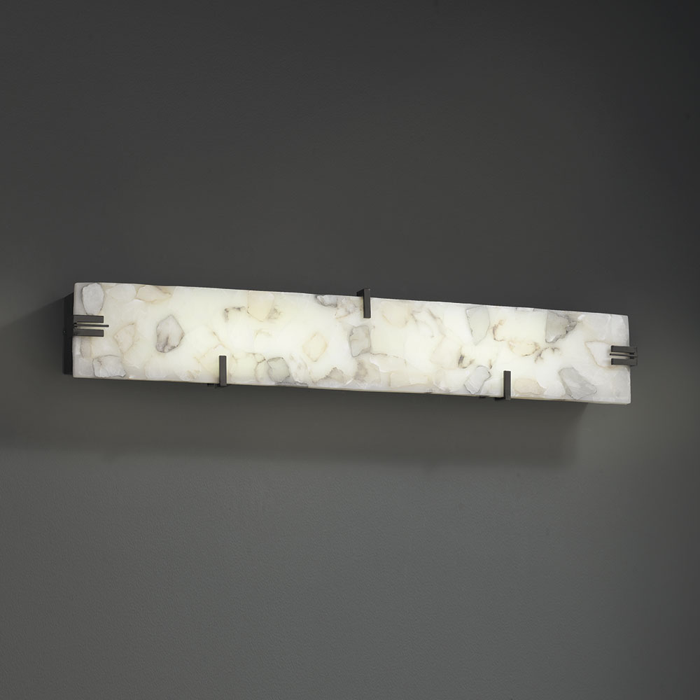 Led Lighting Fixtures : ... Design ALR-8880 Alabaster Rocks! Contemporary LED Bath Light Fixture