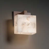 Justice Design ALR-8931 Modular Alabaster Rocks! Wall Mounted Lamp