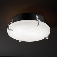 Justice Design CLD-5545-FM Clouds� 12.5  Wide Flush Mount Lighting Fixture