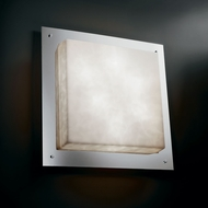Justice Design CLD-5568-WS Clouds� 24  Wide Lamp Sconce