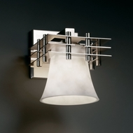 Justice Design CLD-8175 Clouds� 6.5  Wide Wall Sconce Lighting