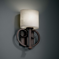 Justice Design CLD-8587 Clouds� 8.75 Wide Wall Light Fixture