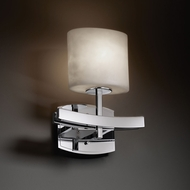 Justice Design CLD-8597 Clouds� 9 Wide Lighting Wall Sconce