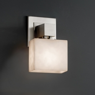 Justice Design CLD-8707 Aero Clouds ADA Compliant Light Sconce