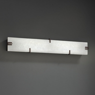 Justice Design CLD-8870 Clouds Contemporary LED Bathroom Wall Sconce