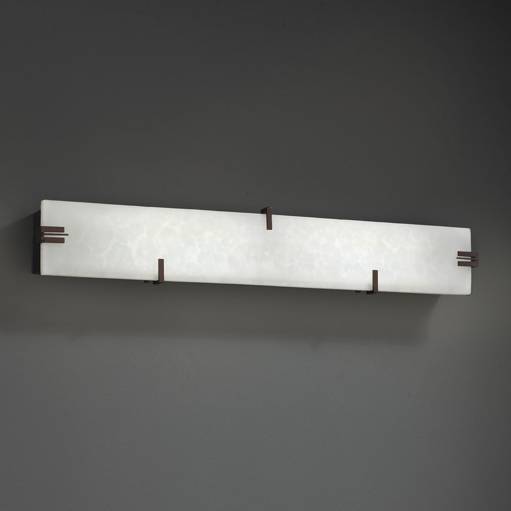 Justice Design CLD 8880 Clouds Modern LED Bathroom Sconce Lighting JUS CLD