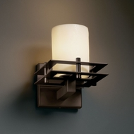 Justice Design CNDL-8171 CandleAria� Faux Candle 6.5  Wide Wall Lighting Sconce