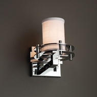 Justice Design FAB-8271 Circa Textile Wall Mounted Lamp