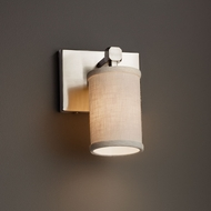 Justice Design FAB-8421 Tetra Textile Wall Lighting Fixture