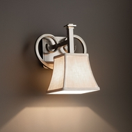 Justice Design FAB-8581 Heritage Textile Lighting Wall Sconce