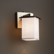 Justice Design FAB-8661 Montana Textile Wall Light Sconce