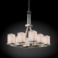Justice Design FAB-8666 Montana Textile Mini Hanging Chandelier