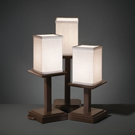 Justice Design FAB-8697 Montana Textile Table Lamp