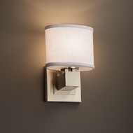 Justice Design FAB-8707 Aero Textile ADA Compliant Wall Sconce