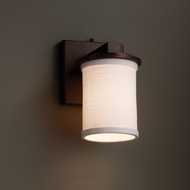 Justice Design FAB-8771 Dakota Textile Wall Lighting