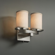Justice Design FAB-8775 Dakota Textile Sconce Lighting