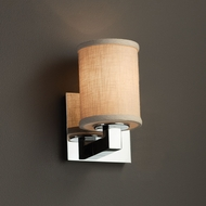 Justice Design FAB-8921 Modular Textile Wall Sconce Lighting