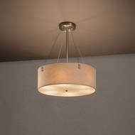 Justice Design FAB-9531 Finials Textile Ceiling Lighting Fixture