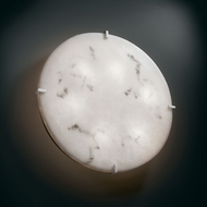 Justice Design FAL-5548-WS LumenAria� Faux Alabaster 24.5  Wide Wall Light Sconce