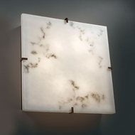 Justice Design FAL-5558-WS LumenAria� Faux Alabaster 24.5  Wide Wall Lighting Fixture