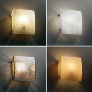 Justice Design FSN-5120 Fusion� Artisan Glass 8.25  Wide Wall Sconce