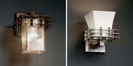 Justice Design FSN-8175 Fusion� Artisan Glass 6.5 Wide Lighting Wall Sconce