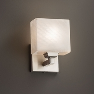 Justice Design FSN-8437 Regency Fusion ADA Compliant Wall Light Sconce