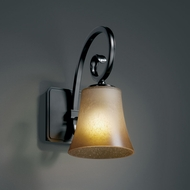 Justice Design FSN-8571 Fusion� Artisan Glass 5 Wide Wall Light Sconce
